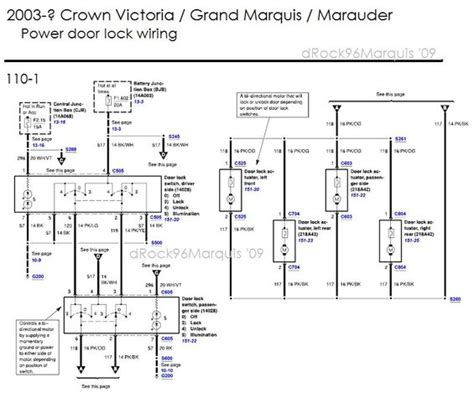 1991 Ford Crown Victorium Radio Wiring Diagram by 1996 Mercury Grand Marquis Panther Chassis Misc