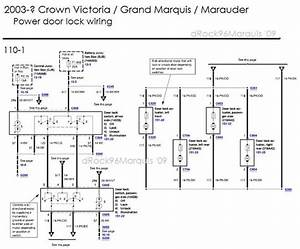 1996 Mercury Grand Marquis Panther Body  Chassis  Misc Diagrams And Pinouts Picture