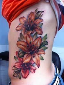 59+ Beautiful Tiger Lily Tattoos Ideas