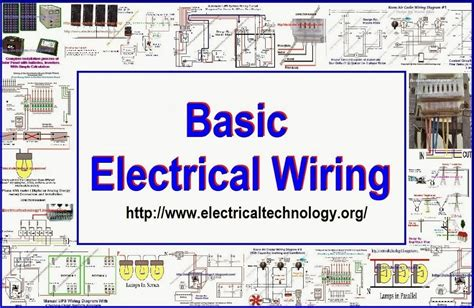 electrical wiring electrical technology electrical wiring electrical technology