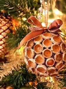 35 idees de decorations de noel qui apporteront de la joie With couleur qui va avec le bois 5 ambiance no235l avec decoration naturelle pour la maison