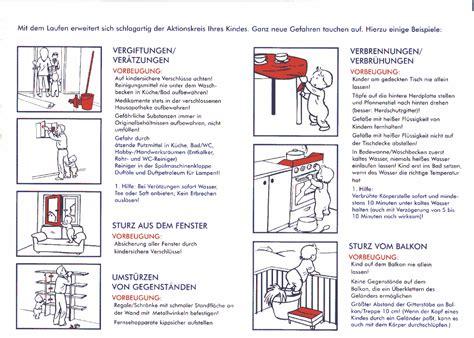 Unfallgefahren In Der Küche by Merkblatt U6