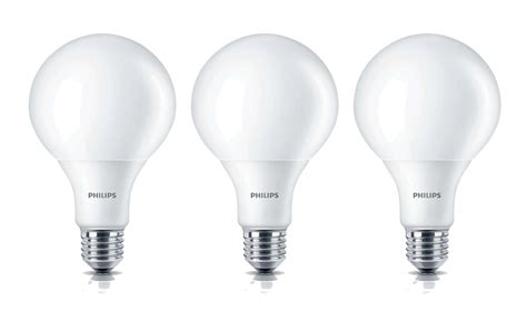 philips led e27 100w 3 x philips led 13 5w large bulb 100w e27 warm white