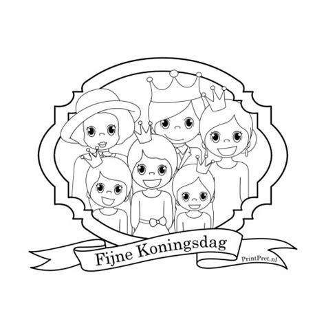 Koningsdag Kleurplaat by Koningsdag Kleurplaat