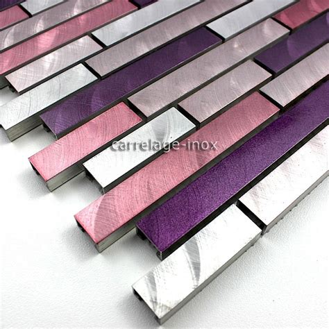 mosaique et carrelage aluminium blend gris