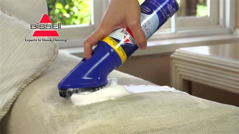 Sofa Upholstery Cleaning by Bissell Carpet And Upholstery Cleaner