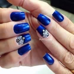Dark blue nail art designs nenuno creative