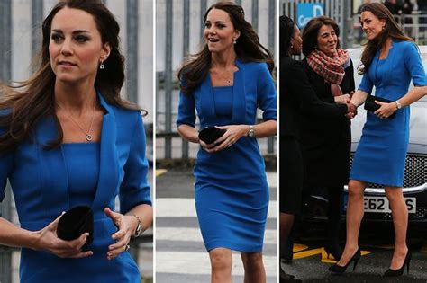kate middleton  royal blue  perfect choice