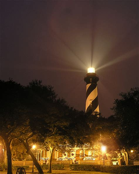 st augustine lighthouse nights of lights carriage way