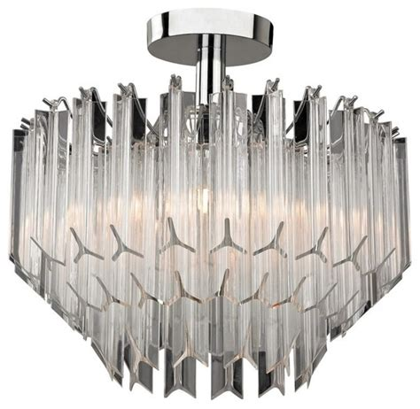 sterling clear acrylic semi flush curtain rods by