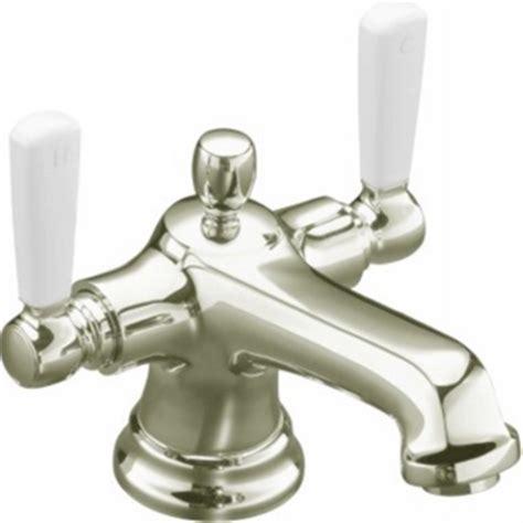 Kohler Bancroft Monoblock Faucet by Kohler K 10579 4p Sn Bancroft Monoblock Lavatory Faucet