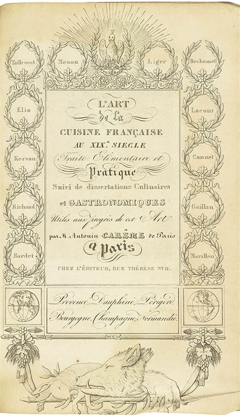 escoffier cuisine not by bread alone america 39 s culinary heritage