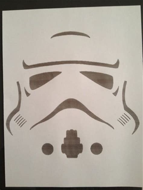 stormtrooper template  balloons star wars birthday