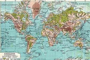 Graphics Cottage: Vintage World Map Poster Graphic