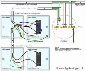 Wiring A Light Switch Diagram