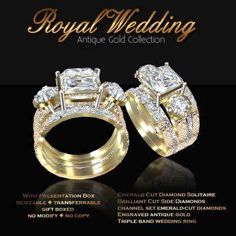 second marketplace exquisite royal wedding antique