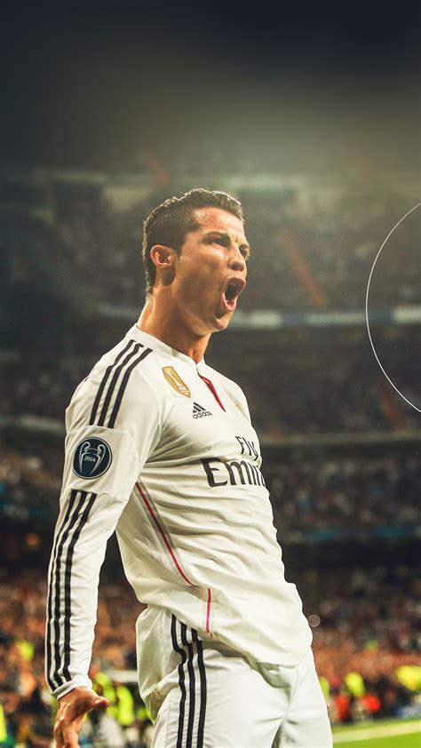 hm ronaldo real madrid soccer shout roar sports wallpaper