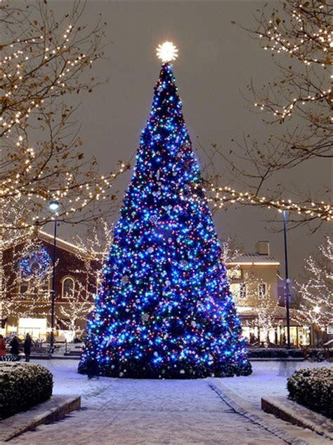 white tree with blue lights 15 absurde kerstbomen girlscene