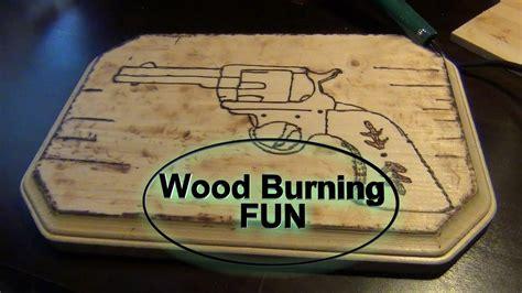 wood burning hobby youtube
