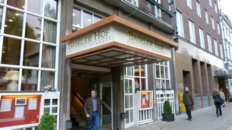 """""""eingang Hotel"""" Kleinhuis Hotel Baseler Hof (hamburg"""