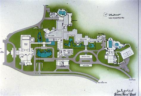 istana nurul izzah color drawing lower ground floor plan archnet