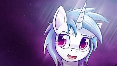 Pony Mlp Dj Pon Magic Friendship Background