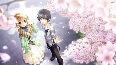 cute anime couples wallpapers top  cute anime