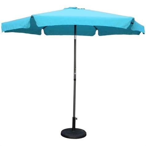 patio umbrella in aqua blue yf 1104 2 7m ab