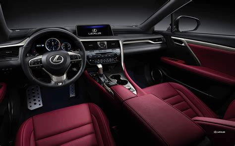 lexus rx red interior auto buzz 2016 lexus rx 350 rx 450h preview