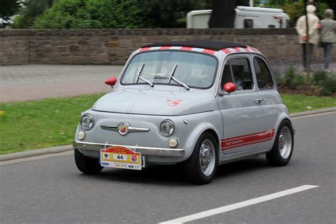 Fiat Abarth 595, Bj. 1972, In Fahrt (2016-07-02 Sp