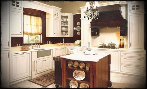 Off White Country Kitchen At Ideas Antique Style French