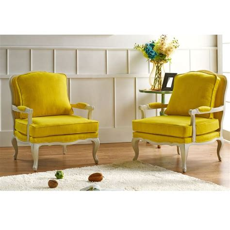17 best ideas about yellow accent chairs on