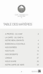 """LA CARTE ∙ PRINTEMPS 2015 par le Chef """"Voilà"""" RESTAURANT ∙ LE MEDAI"""