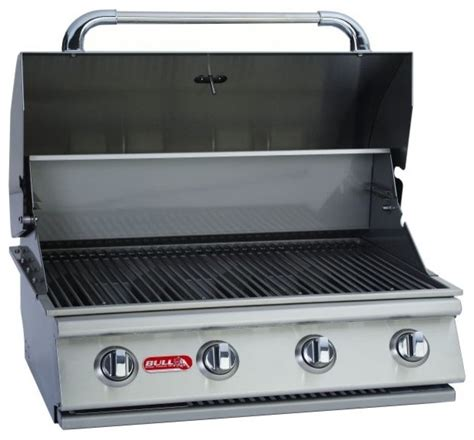 7 burner 47 quot ss built in lp gas grill with infrared