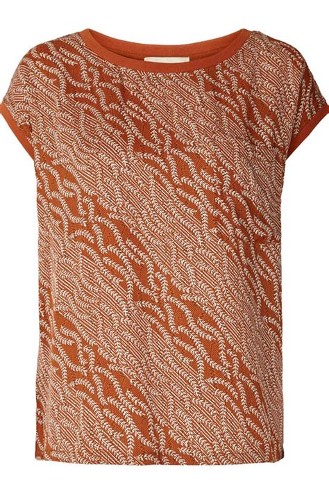 rust colored top lollys laundry rust colored top from netherlands by the