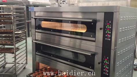 electric bread making machine deck oven  steam buy