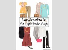 A capsule wardrobe for the apple body shape
