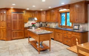 mullet cabinet arts crafts kitchen - Amish Kitchen Islands