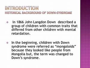 Essay On Down Syndrome Definition of down syndrome Essay