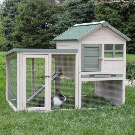 a rabbit hutch boomer george white wash rabbit hutch rabbit cages