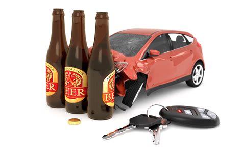 car crashed  beer bottles  image