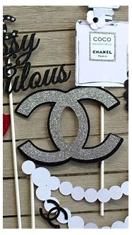 Set of 7 chanel photoprops , chanel photo props, chanel ...