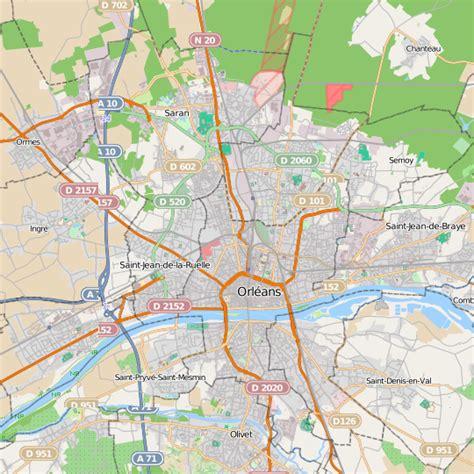 meilleur site cuisine plan orléans carte ville orléans