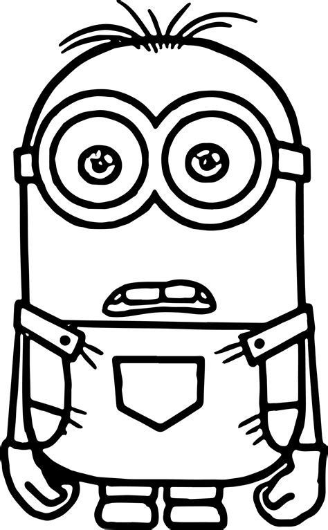 Minion Coloring Pages Fotolipcom Rich Image And Wallpaper