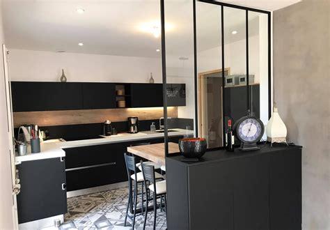 cuisine avec verri鑽e awesome verriere cuisine salon contemporary awesome interior home satellite delight us