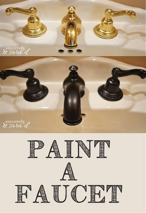 can you paint a sink how to paint a faucet sincerely sara d