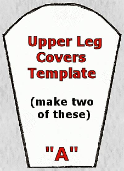 Thigh Armor Template by Diy Stormtrooper Armor Template Diy Projects