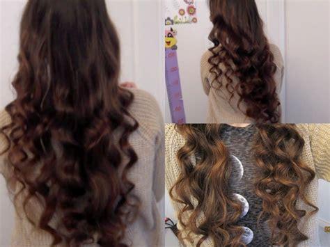 minute  heat curls   curl  hair