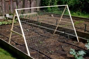 Cucumber Garden Trellis