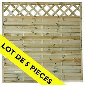 Panneau De Cloture Pas Cher : panneau brise vue en bois brico depot penmie bee ~ Premium-room.com Idées de Décoration